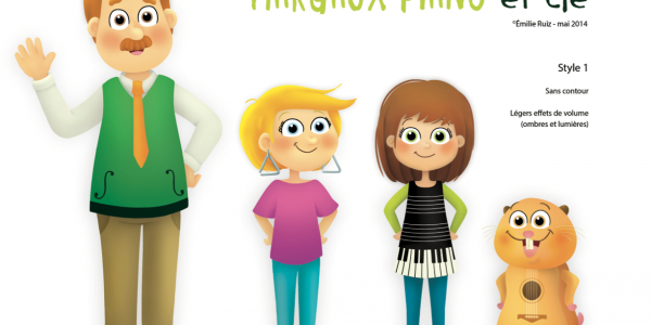 Margaux Piano et compagnie - test personnages
