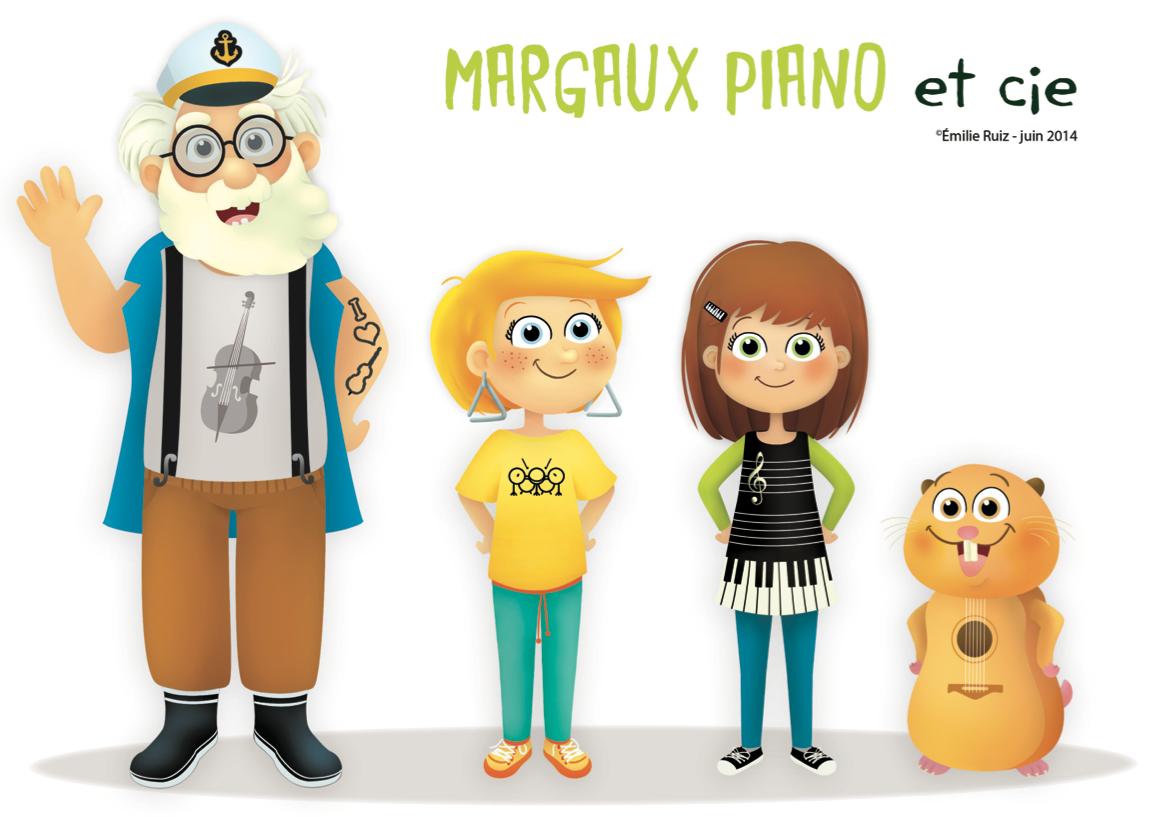 Margaux Piano Nouveaux Personnages