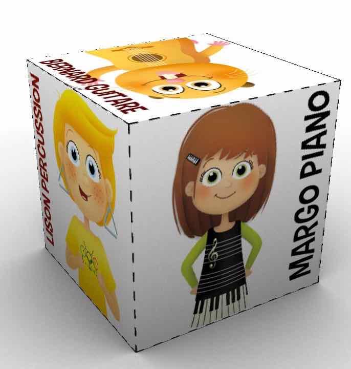 Margo Piano Cube
