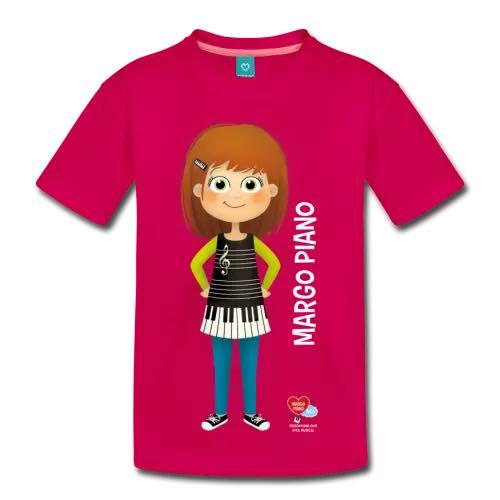 Margo Piano TShirt